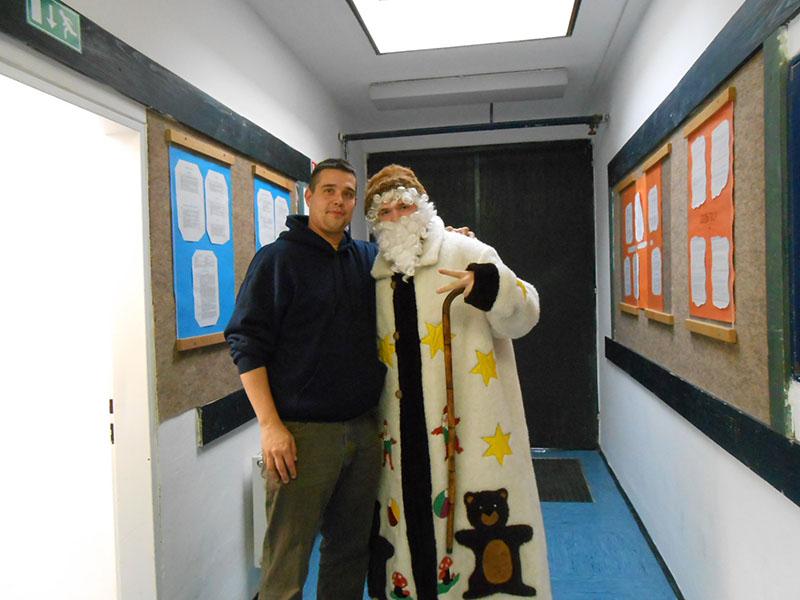 Obiskal me je Dedek Mraz