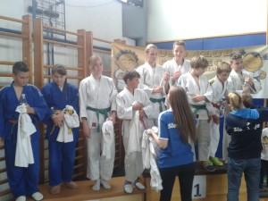 Podelitev medalj - ekipno