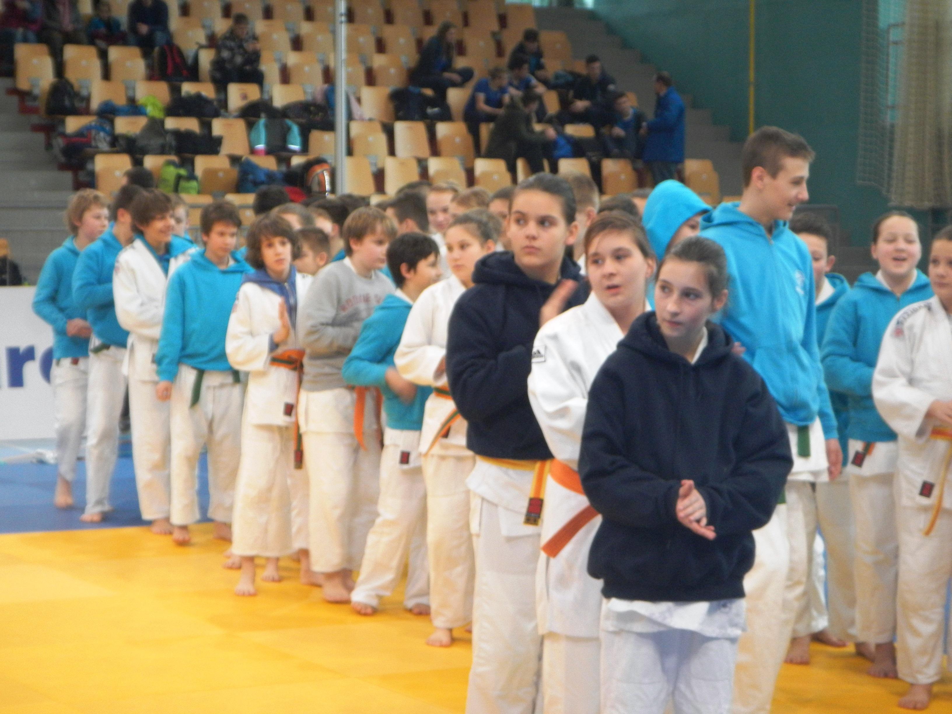 Judoistke Judo kluba Koper na DP st.deklic