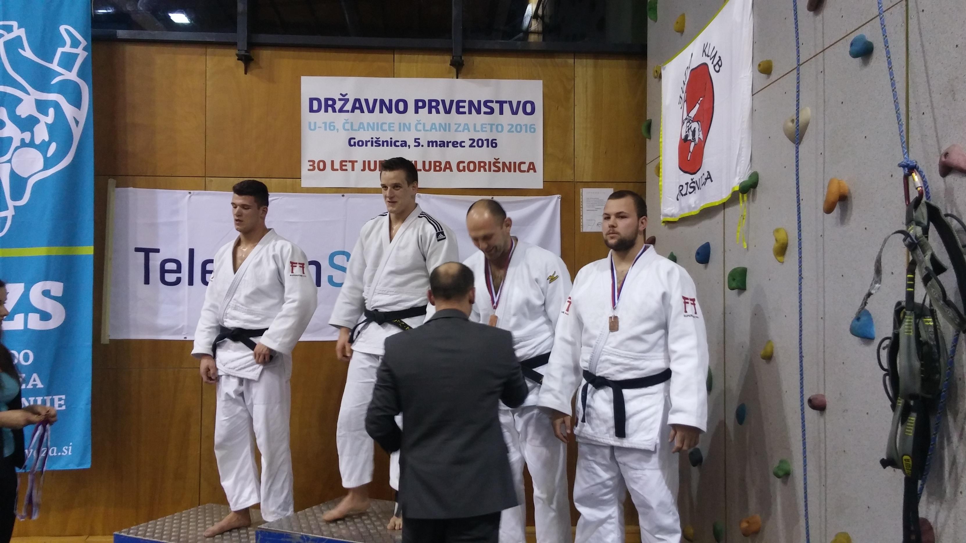 Igor SPASOJEVIĆ med podelitvijo medalj