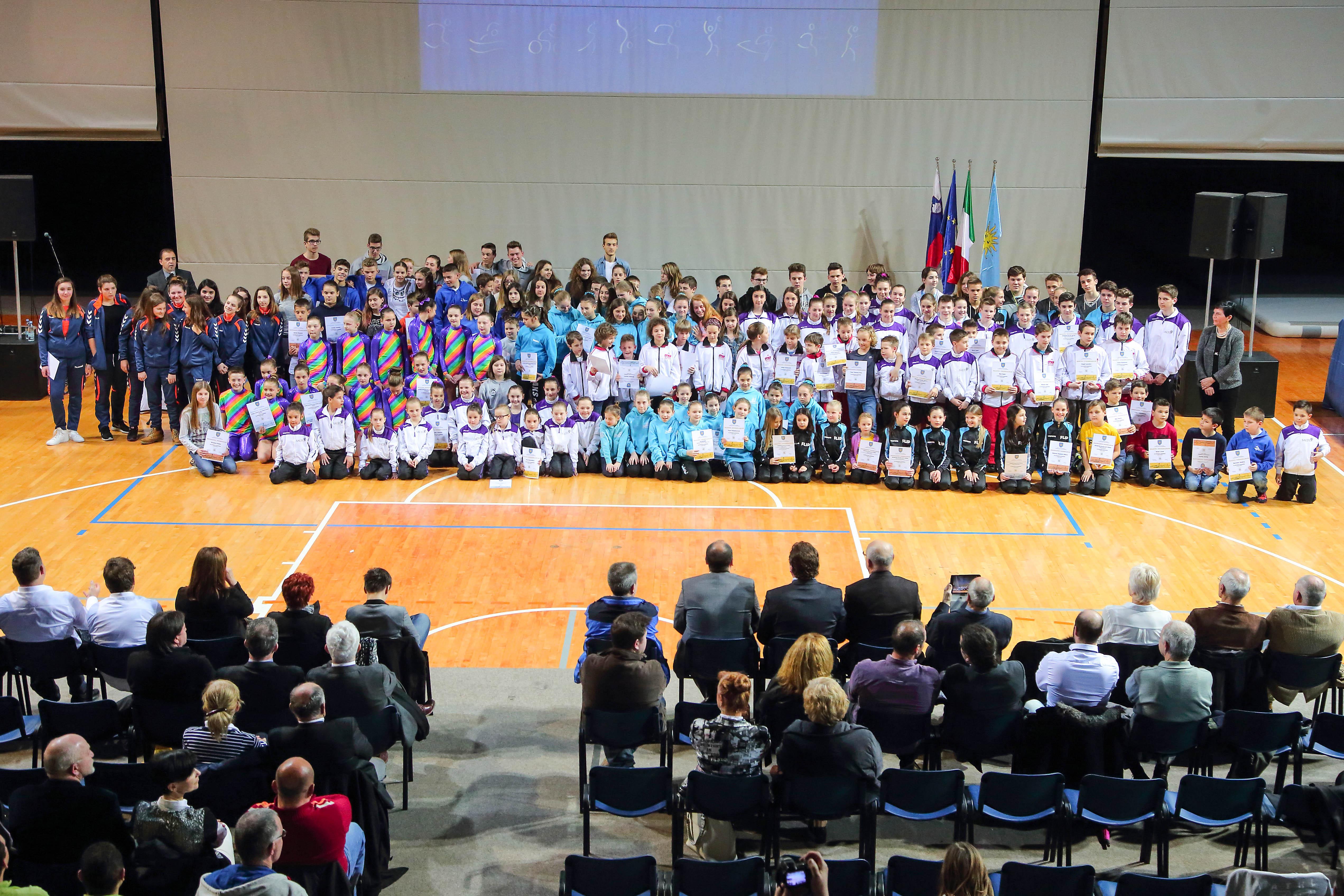 Koper, 29.02.2016 Športna dvorana Arena Bonifika, Mestna obèina Koper, Podelitev priznanj Športnik Kopra 2015