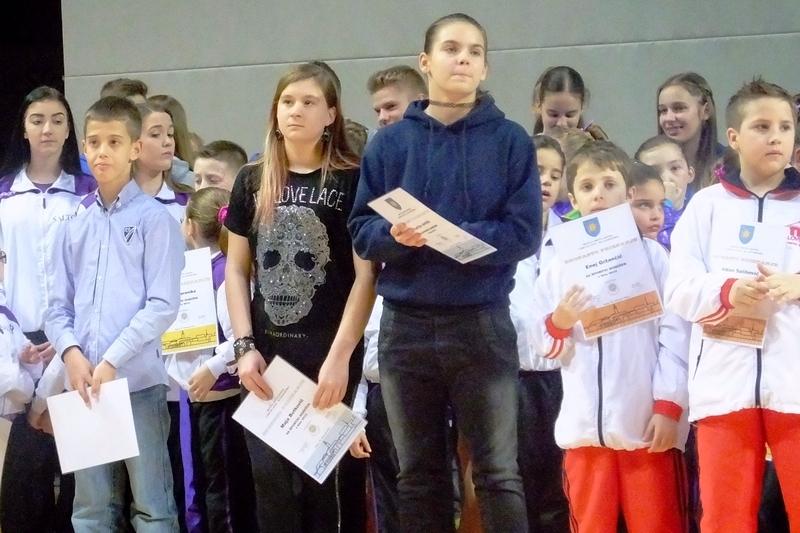 Jernej, Maya in Lucija nagrajenci Športnik Kopra 2015