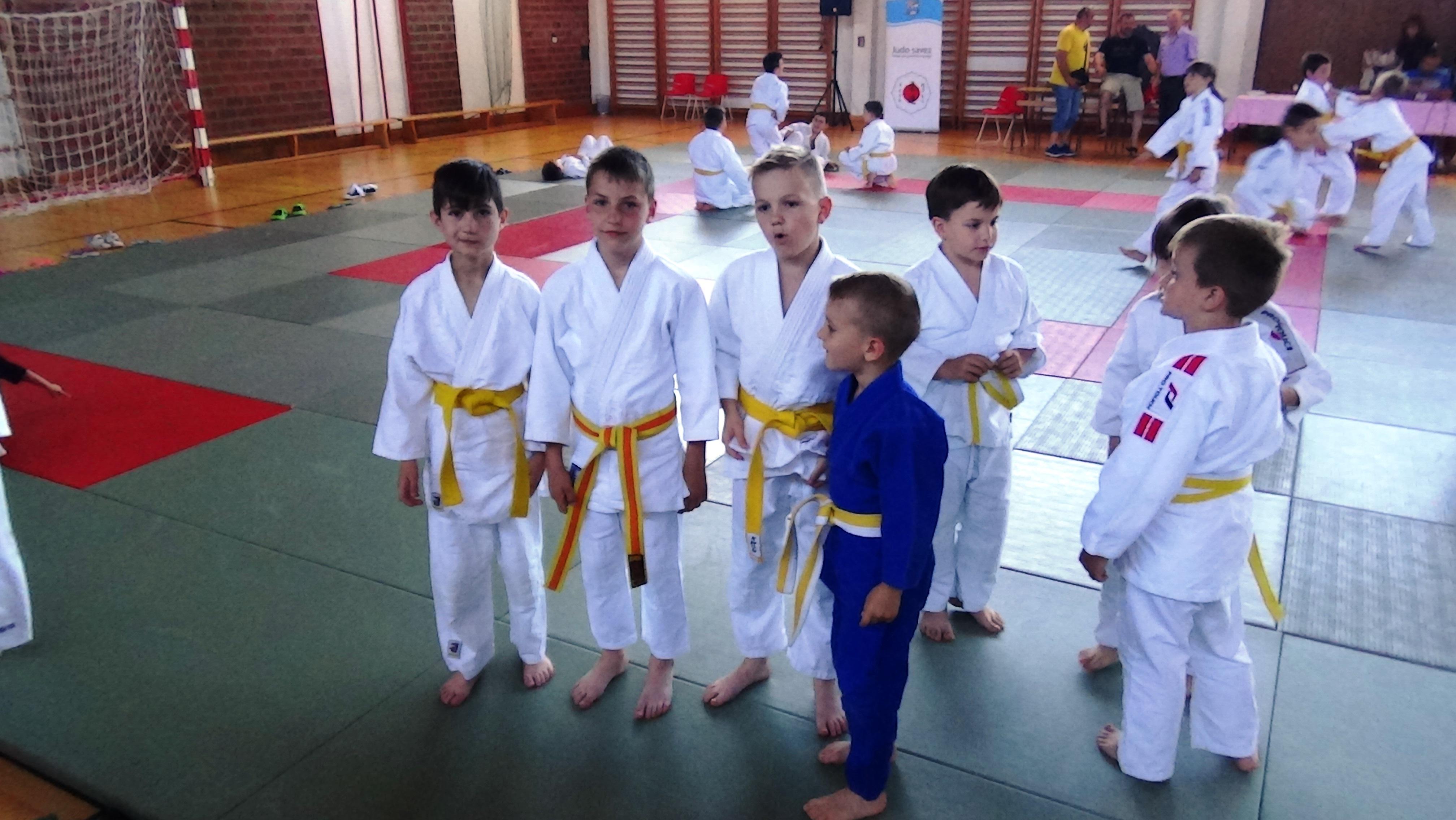 Borci Judo kluba Koper
