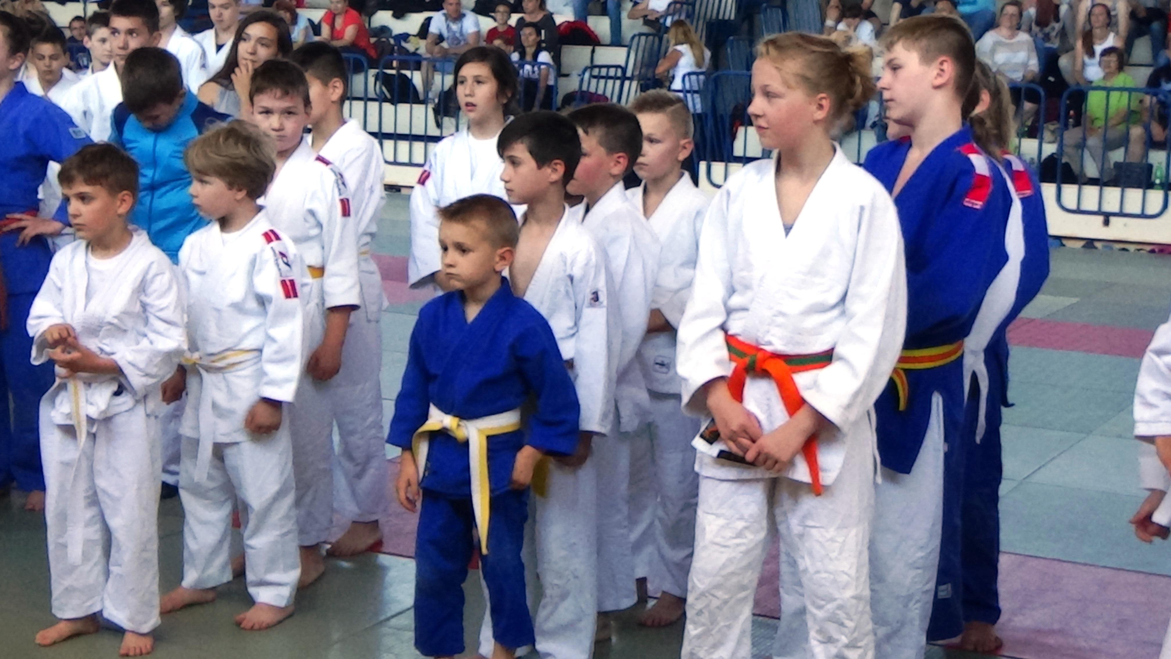 Najmlajši predstavnik tekmovanja Leo VODEB