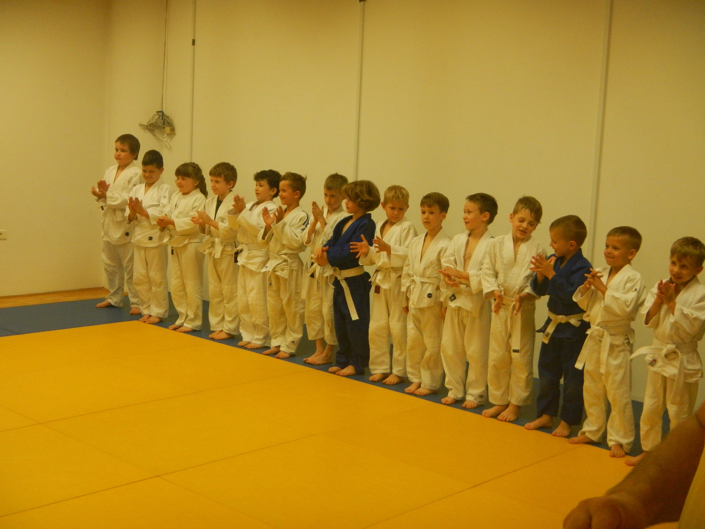 Aplauz Judo Vrtca svojim trenerjem